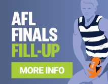 AFL Finals Money Back Special