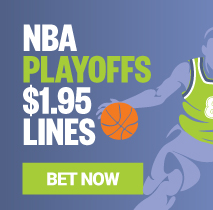 NBA Playoffs $1.95 Lines